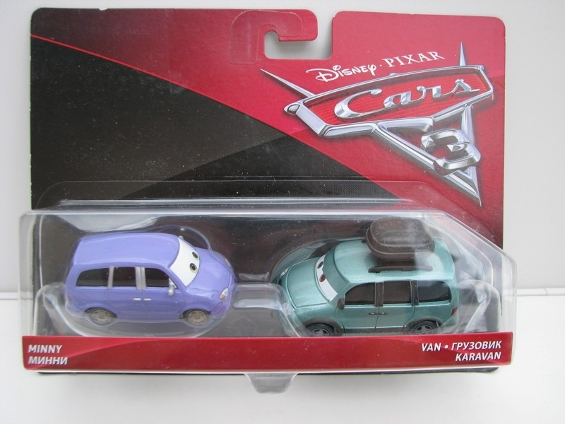 Duo Pack Minny a Van autíčka Cars Disney Pixar Cars 3 DXV06